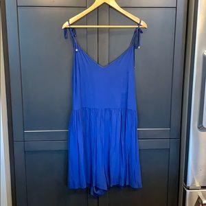 Kate Spade royal blue romper size XL